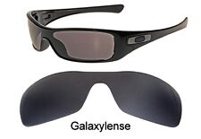 Galaxy Replacement Lenses for Oakley Antix Black color Polarized 100% UVAB