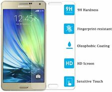 TEMPERED GLASS SCREEN PROTECTOR ANTI SCRATCH FILM For SAMSUNG GALAXY A7 2015 UK