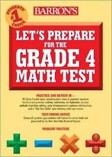 Let's Prepare for the Grade 4 Math Test-ExLibrary