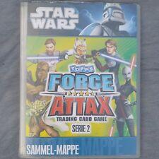 Topps FORCE ATTAX Star Wars Serie 2 - alle 240 Karten komplett + Sammler-Magazin