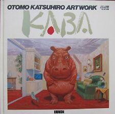 OTOMO KATSUHIRO Illustration art book KABA 1 Japan 1989