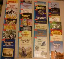 Grade 4 McGraw Hill Set of 30 Leveled Readers,Treasures, Blue Back,(Homeschool)