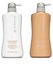Satinique Smooth Moisture Shampoo & Conditioner Set 25.6oz for Unruly Hair Amway