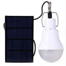 15W Solar LED Glühbirne Outdoor Indoor Camping Zelt wiederaufladbare Lampe