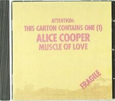 Alice Cooper Muscle of Love CD NEW SEALED Teenage Lament '74/Crazy Little Child+
