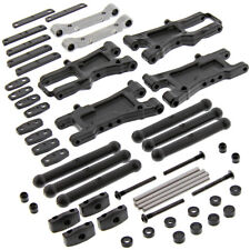 HPI 1/10 RS4 Sport 3 Drift FRONT & REAR SUSPENSION ARMS, PIVOT BLOCKS HINGE PINS