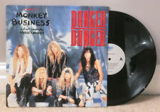 "DANGER DANGER Monkey Business 12"" vinyl NM/EX 1st Holland press 1991"
