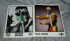 HULK HOGAN Lot of 2 officially-licensed WCW Publicity Photos * WWE