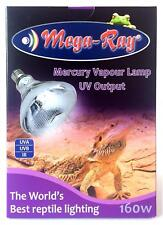 MEGA-RAY 160 WATT UVB BULB New