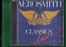 AEROSMITH - CLASSICS LIVE CD NUOVO SIGILLATO
