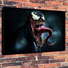 "Venom cattivi Spider Man cartoon stampa foto su tela A1.30""x20"" 30 mm deep"