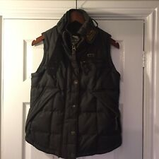 ladies superdry body warmer Small
