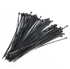 1000pc Nylon Plastic Zip Wrap Cable Tie Wire Self-Locking Black 3x100mm #NP5