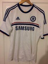 2013/2014 Chelsea FC Lejos Camiseta De Fútbol Pequeño Para Hombre Adidas Samsung Blues Raro