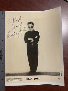 Billy Joel Signed 8x10 Photo