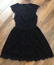 Women's Talula Dress NWT Size 0 Black Lace