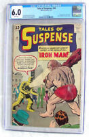 Tales of Suspense #40 FN 6.0 1963 2nd Iron Man after #39! White Pages H4 122 cm