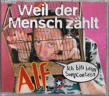 """Alf Poier """"Weil der mensch zählt"""" Eurovision Austria 2003 maxi cd 3 track"""