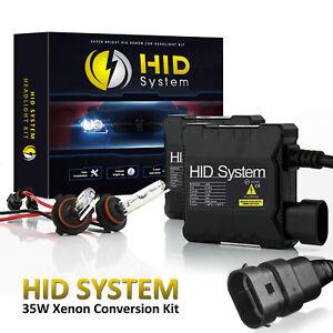 HidSystem Xenon Lights HID Kit for Chevrolet Silverado 2500 HD 1990 - 2018 H11 9