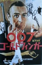 "Sean Connery  orig. Autogramm "" James Bond 007 "" Großfoto 20x30 Goldfinger"