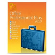 Microsoft Office 2010 Professional Plus? 1pc? producto Key? ESD? 32 & 64 bits
