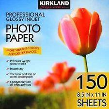 Kirkland Professional Glossy Photo Paper - 8.5 x 11 (150 Sheets) FAST SHIPPING