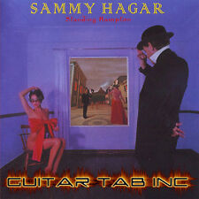Sammy Hagar Digital Guitar & Bass Tab Standing Hampton Lessons on Disc Gary Pihl