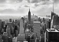 Wall Mural photo Wallpaper NEW YORK CITY BLACK & WHITE Large size wall art