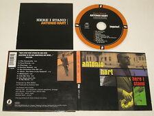 ANTONIO HART/HERE I STAND(IMPULSE 12082) CD ALBUM