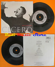 LP 45 7'' CICERO Love is everywhere Mind gap 1991 SPAGHETTI CIAO 3 cd mc dvd