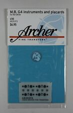 Archer 1/35 Mercedes-Benz W31 typ G4 Instruments and Placards (for ICM) AR35373