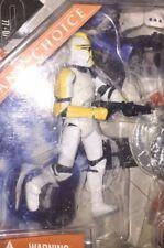 2007 Hasbro Star Wars Saga Legends Clone Trooper Officer Fan's Choice Yellow