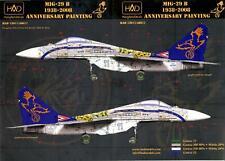Hungarian Aero Decals 1/48 Hungarian MIKOYAN MiG-29 1938-2008 Anniversary Scheme