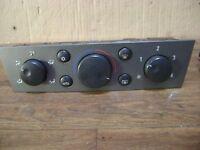 Vauxhall Vectra C//Signum 4 velocidad clima Calentador de Panel de control 13138190
