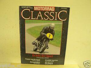 MOTORRAD CLASSIC 1988-03 BMW RS,VINCENT,BSA GOLD STAR,GUZZI,