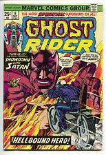 Ghost Rider 9 Marvel 1974 FN VF Gil Kane Johnny Blaze Mephisto