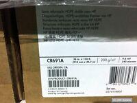 """36"""" HP CR691A HDPE Banner Papier doppelseitig verstärkt 200 g/m2, 45.7m Paper"""