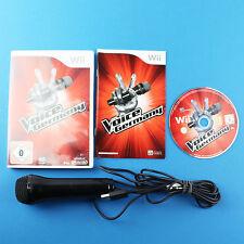The Voice of Germany + Mikrofon  Spiel für Nintendo Wii und Wii U ♦