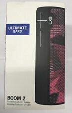 Ultimate Ears UE Boom 2 Twilight Magenta Wireless Mobile Bluetooth Speaker
