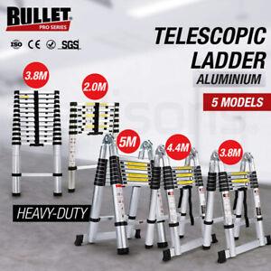 BULLET Multipurpose Telescopic Folding Ladder Aluminium Alloy Extension Steps