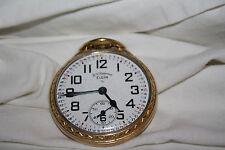 Beautiful Elgin B. W. Raymond Pocket Watch Original Must See Rail Road Model 571