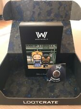 WESTWORLD LOOT CRATE EXLUSIVE FIGURE AND PIN NEW JAN 2018 *SHIPS IN LOOTBOX (H9)