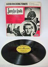 Jerry Lee Lewis - Good Rocking Tonite | Sun 1979 | VG+ / VG+ | Cleaned Vinyl LP