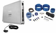 SSL EVO3000.1 3000W Class D 1 Ohm Stable Mono Car Amplifier+Bass Remote+Amp Kit