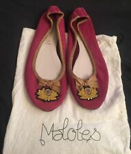 Auth Maloles ballerines ballets flats Shoes Pink size IT 40 uk 8 us 10