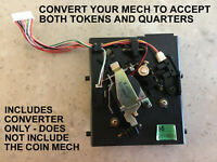 $.25 CONVERTER FOR PACHISLO SLOT MACHINES - ACCEPTS QUARTERS & TOKENS (See List)