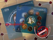 Coffret BU 1 Cent à 2 Euro + 2 Euro CC Italie 2018 - Santé