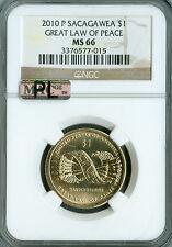 2005-P SACAGAWEA DOLLAR NGC MAC MS66 PQ  BUSINESS STRIKE SPOTLESS  *