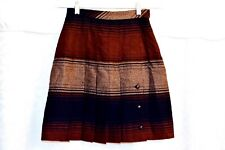 f224f0dff Pleated Wool Skirt by Sports Galore Size 7/8 (?) NWOT