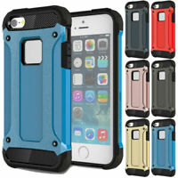Strong Hybrid Tough Shockproof Armor Phone Case for iPhone X 8 7 6S Plus 5S SE